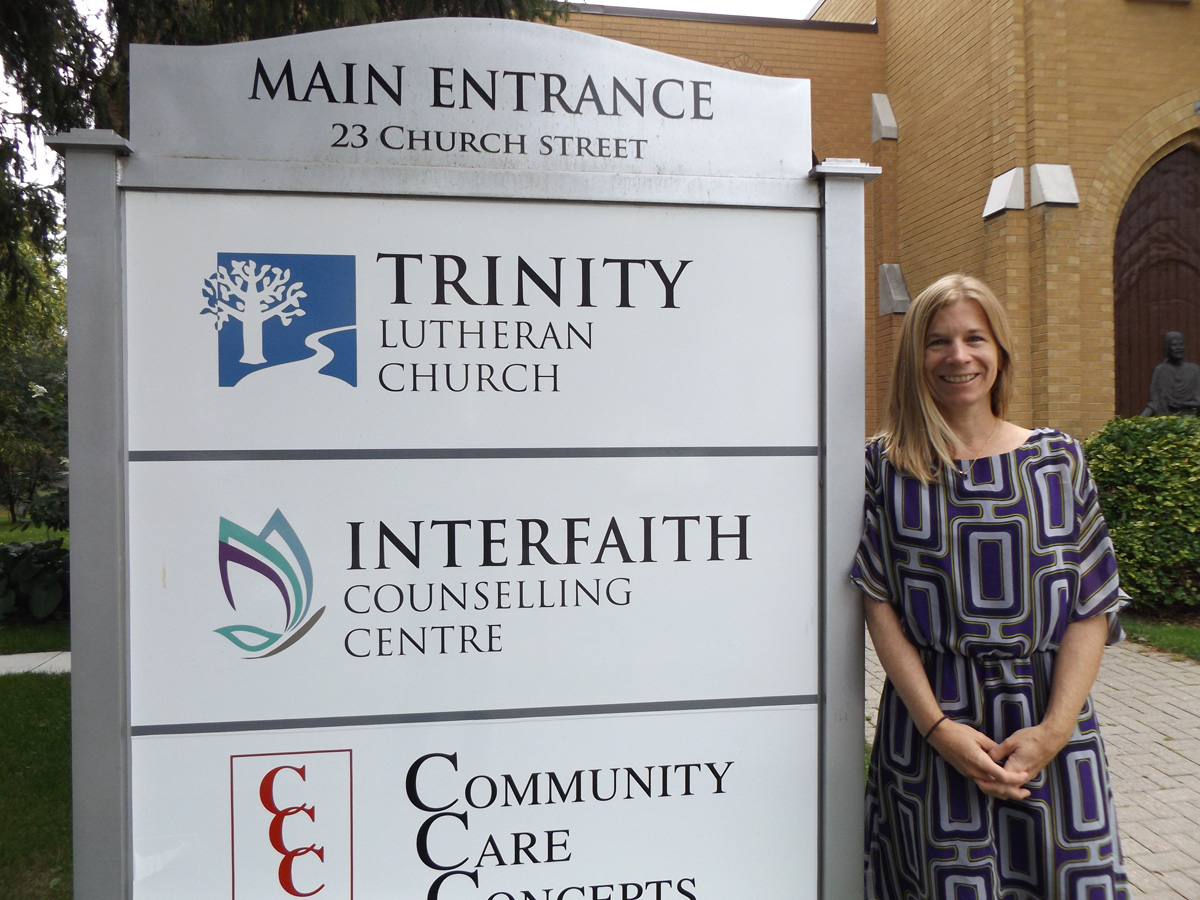Interfaith Counselling Centre's Amy Krug is bringing her passion and expertise to the newly-created position of Cancer Care Counsellor.