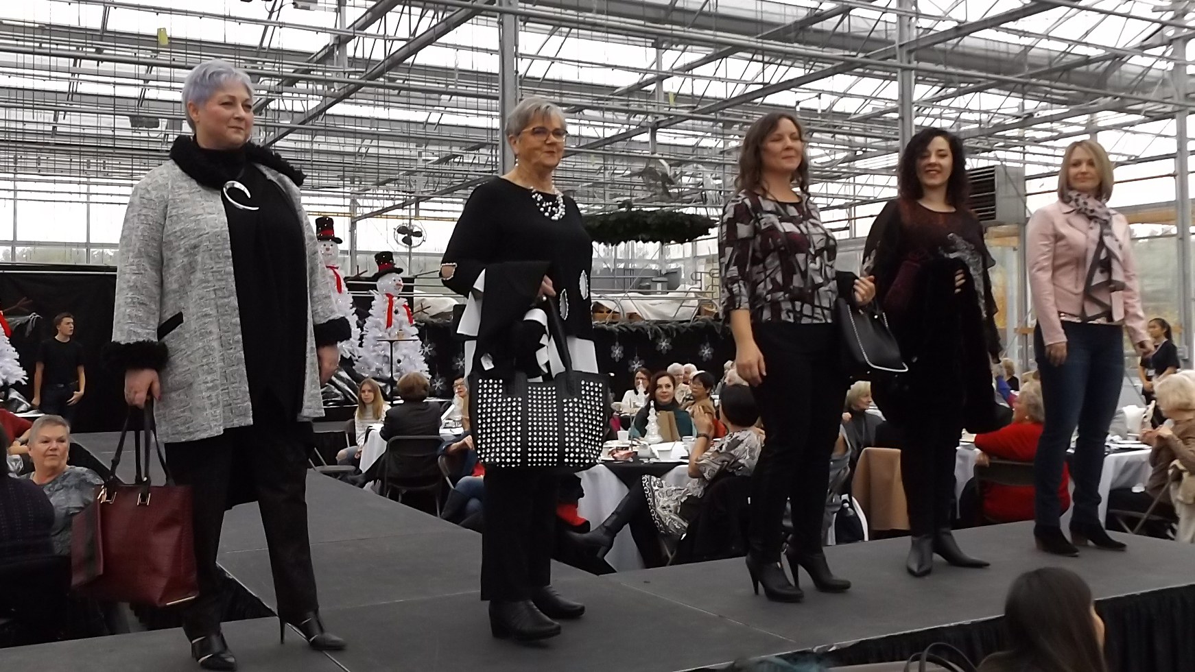 Wilmot councillors Cheryl Gordijk, Jennifer Pfenning, and Angie Hallman were amongst the models at a charity fashion show in Petersburg on Sunday Oct. 27.