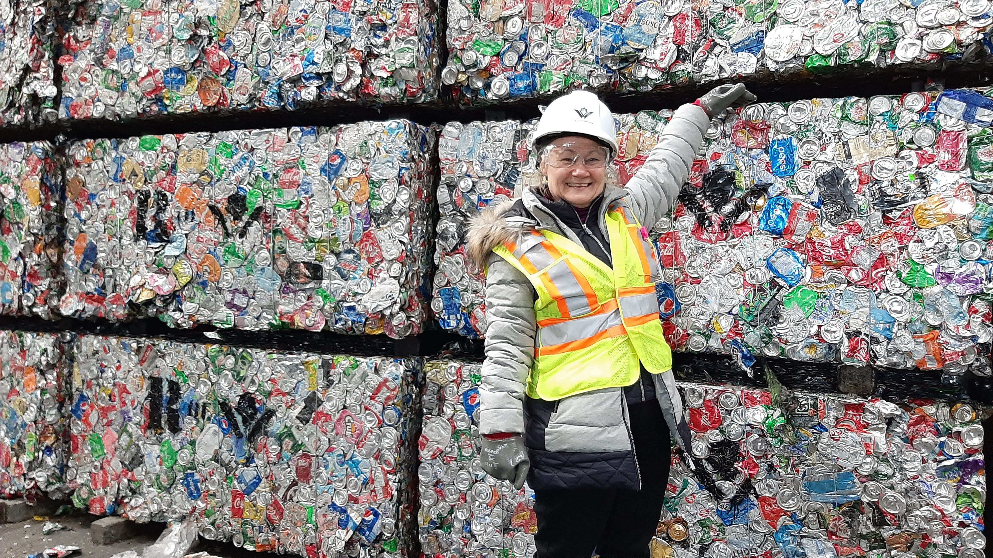 "Kathleen Barsoum, waste management coordinator for the region, said that ""you can divert about 80 per cent of your home waste into recycling."""